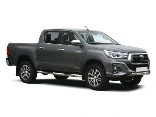 toyota hilux diesel invincible d/cab pick up 2.4 d-4d [lthr] 3.5t tow 2018 front three quarter