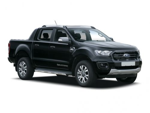 ford ranger diesel pick up double cab thunder 2.0 ecoblue 213 auto 2020 front three quarter